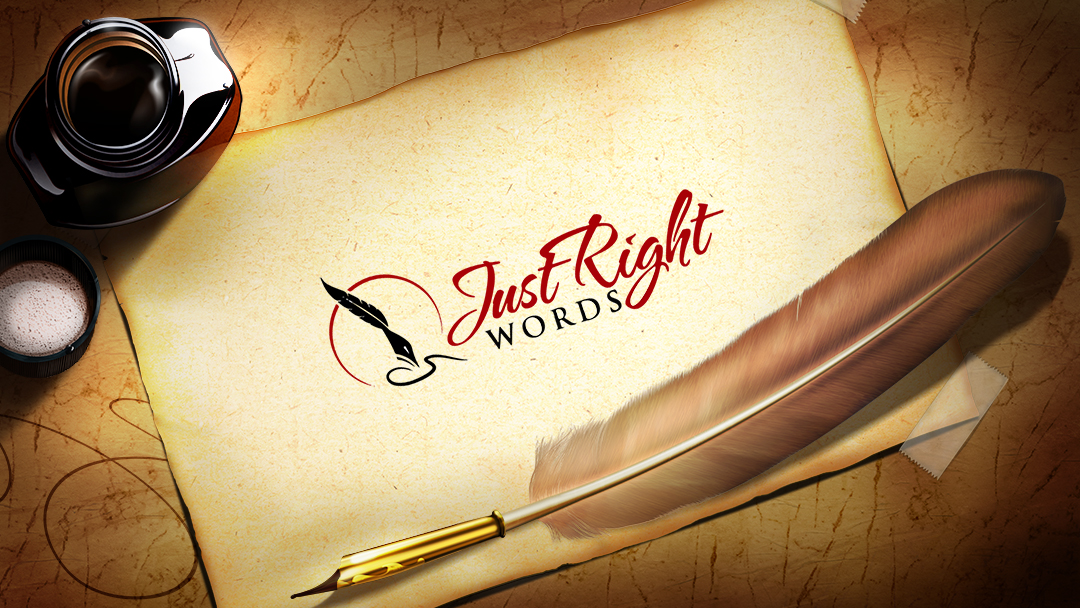 Just right Words - Logo - Business in Networking Group
