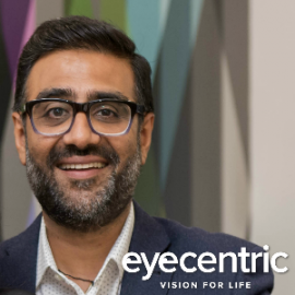 Ash Vadher, Eyecentric -NetworkOne Business Networking Group Member